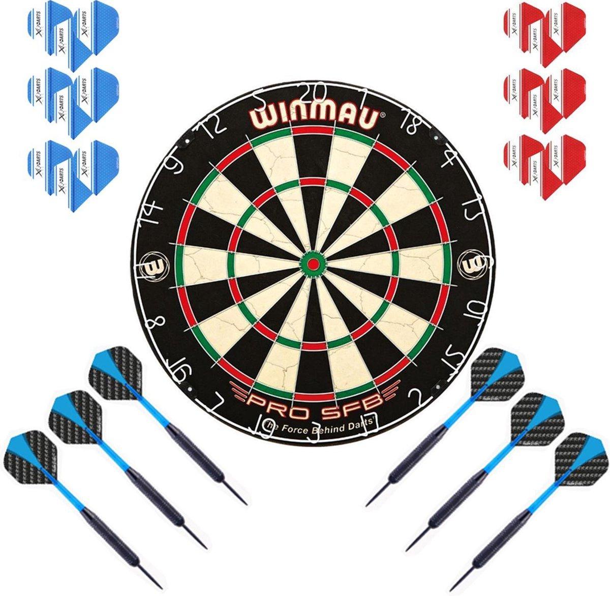 Dragon Darts Winmau PRO SFB set - dartbord - 2 sets - dartpijlen - dart shafts - dart flights - Winmau PRO SFB