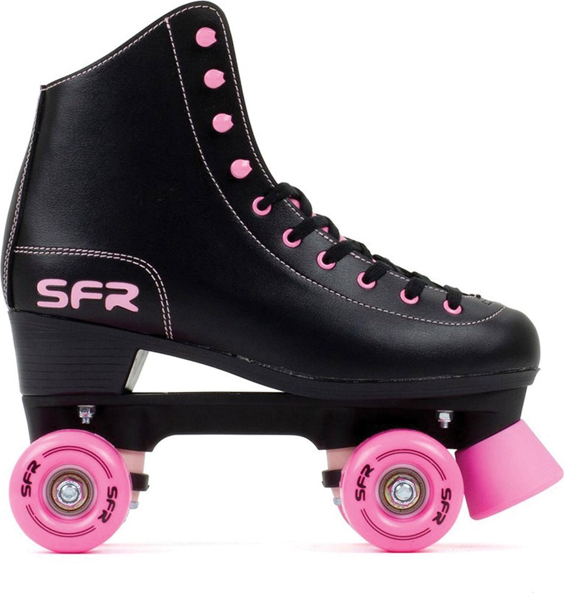 SFR Rolschaatsen - Maat 35.5Kinderen - Zwart/Roze