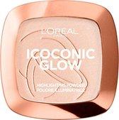 5. L'Oréal Paris 01 Iconoc Glow Highlighter - Poeder Highlighter - 9 gr.
