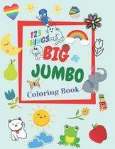123 THINGS BIG JUMBO Coloring & Book