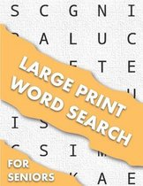 Large Print Word Search For Seniors