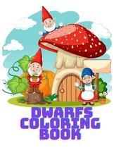 Dwarfs Coloring Book