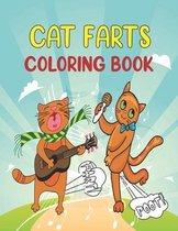 Cat Farts Coloring Book