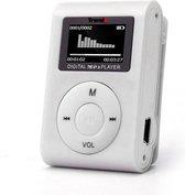 Mini MP3 Speler met LCD - Muziekspeler - Zilver