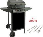 MaxxGarden Gasbarbecue - 2 Branders - Incl. BBQ set