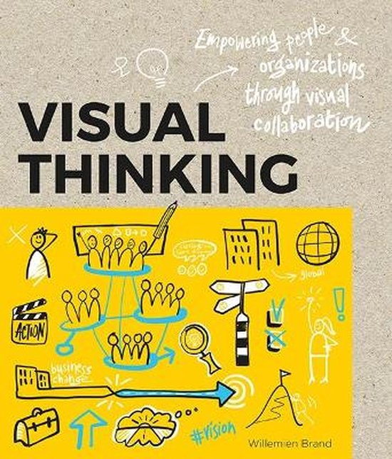 Boek cover Visual Thinking van Williemien Brand (Paperback)