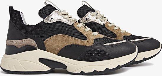 VIA VAI Zaira Fae Sneakers – Leer – Zwart – Maat 42
