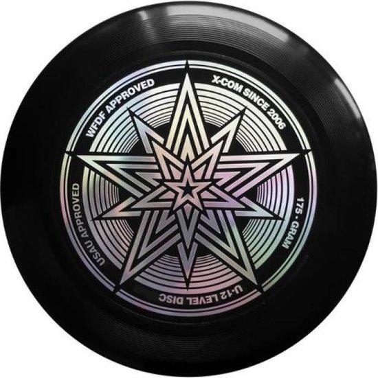 X-COM Ultimate Star Frisbee - 175 gram - Zwart