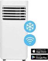 BAMtech® 9000 BTU Mobiele Airco met Raamafdichting – Wifi Airconditioning & Luchtontvochtiger -Inclusief Raamafdichtingskit