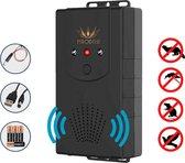 Ferodelli - Marterverjager - Marter verjager auto & huis - Muizenverjager - Batterijen, 12V & Stopcontact - (Populair)