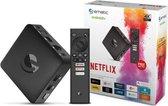 Ematic 4K Ultra HD Android TV Box Netflix, Spotify, Youtube Streamen, Google Play