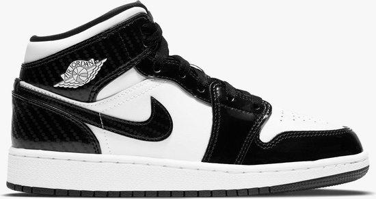 Nike Air Jordan 1 Mid SE ASW (GS), Black/White, DD2192 001, EUR 36