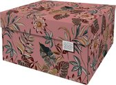 Dutch Design Brand - Dutch Design Storage Box - Opbergdoos - Opbergbox - Bewaardoos - Bloemen - Floral Garden