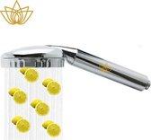 Aroma Sense Luxury Aroma Wellness Douchekop COMFORT - Aroma - Huidverzorging - Vitamine C - Bacteriefilter - Antikalk - Ionisatie - 40% Waterbesparing - Inclusief 1 geur cartridge (Lemon) Vitamine C