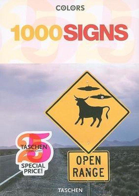 Cover van het boek '1000 Signs (T25)'