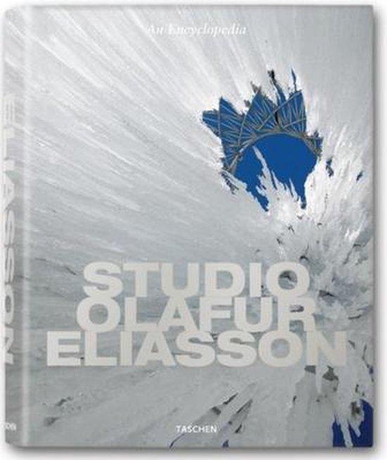 Cover van het boek 'Studio Eliasson. An encyclopaedia'