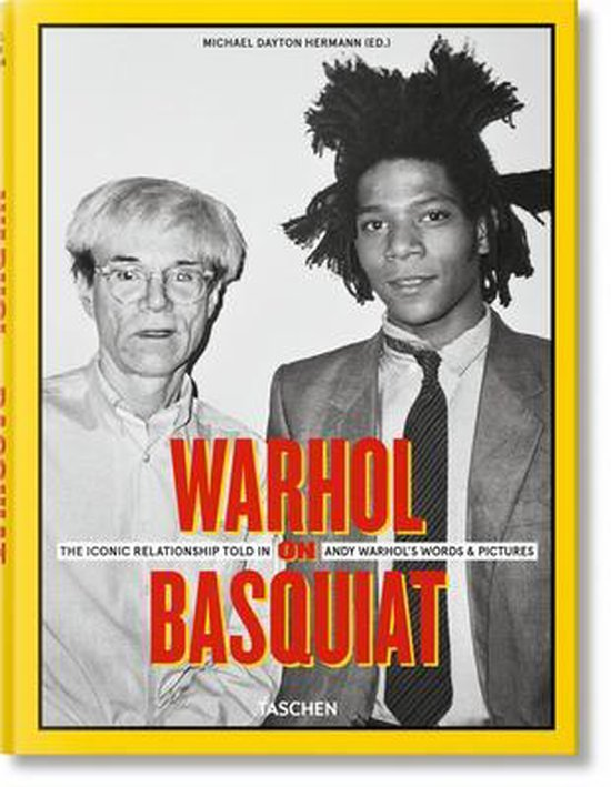 Boek cover Warhol on Basquiat. Andy Warhols Words and Pictures van unknown (Hardcover)