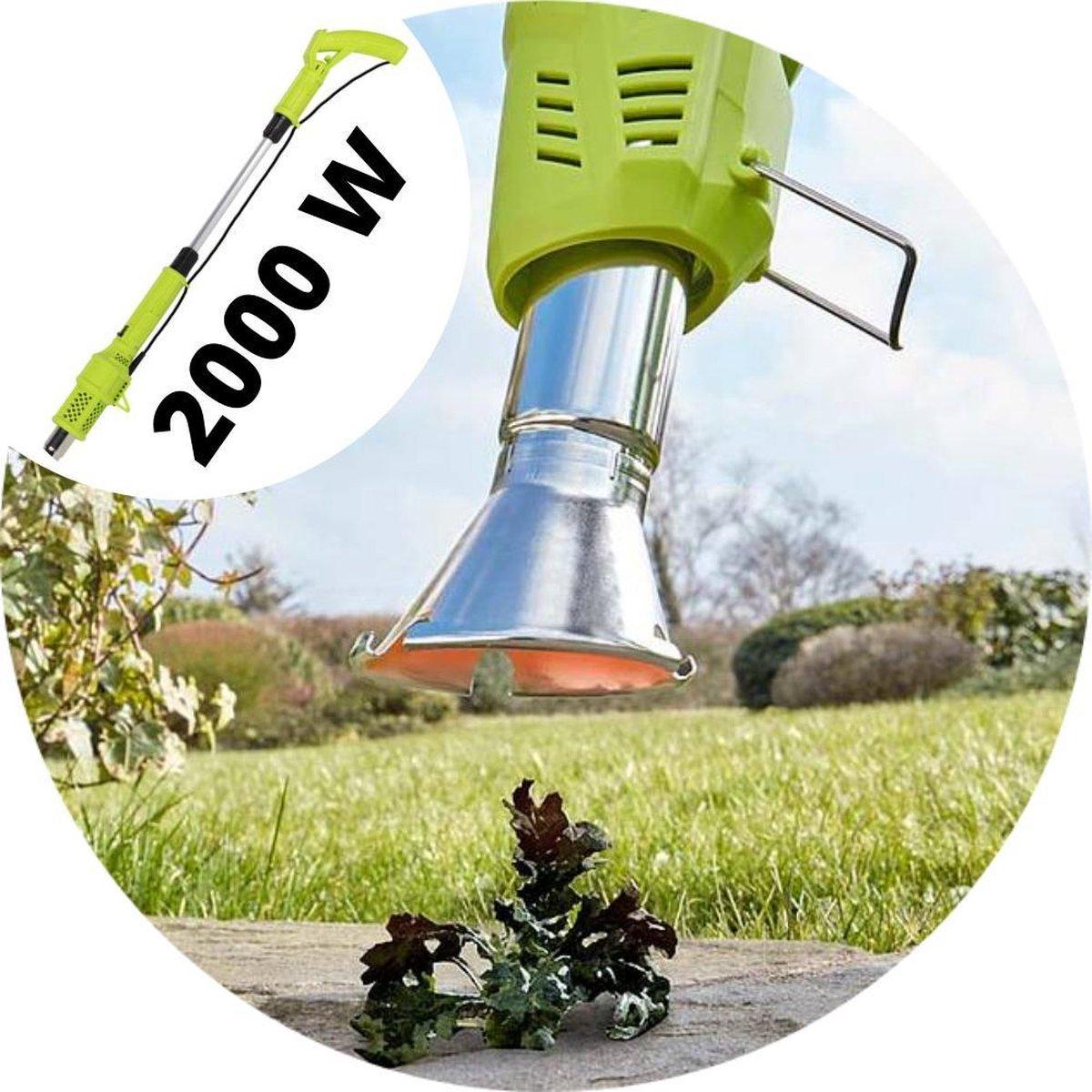 DirectSupply Onkruidbrander - Brander 2000W - Elektrisch - Onkruidbestrijding - Onkruidbrander Elekt