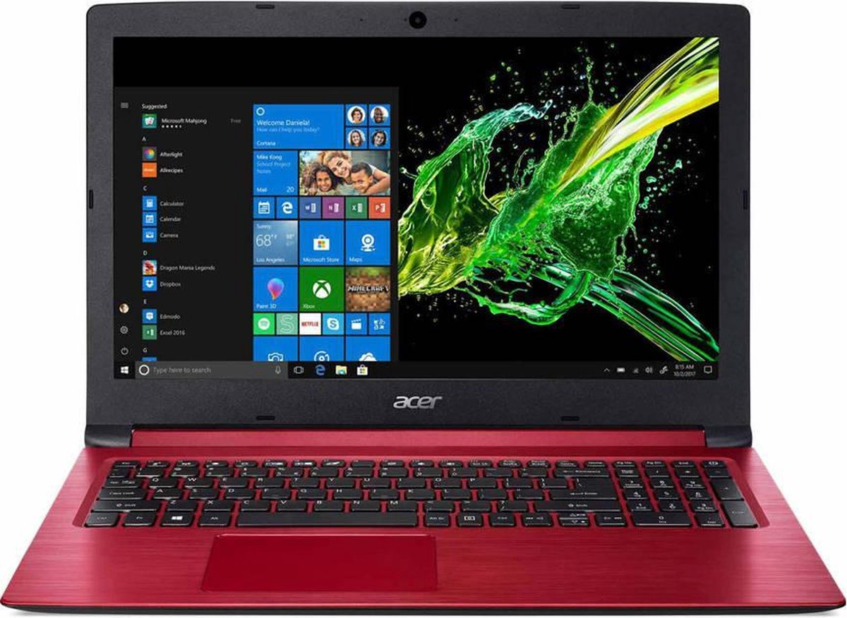 """Acer Aspire 3 A315-53G-32X1 - Laptop - 15.6"""" - 512GB - Rood"""