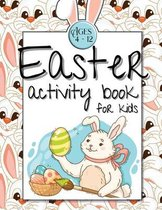 Easter Activity Book for Kids Ages 4-12