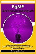 PgMP Latest Certification Exam Study Guide