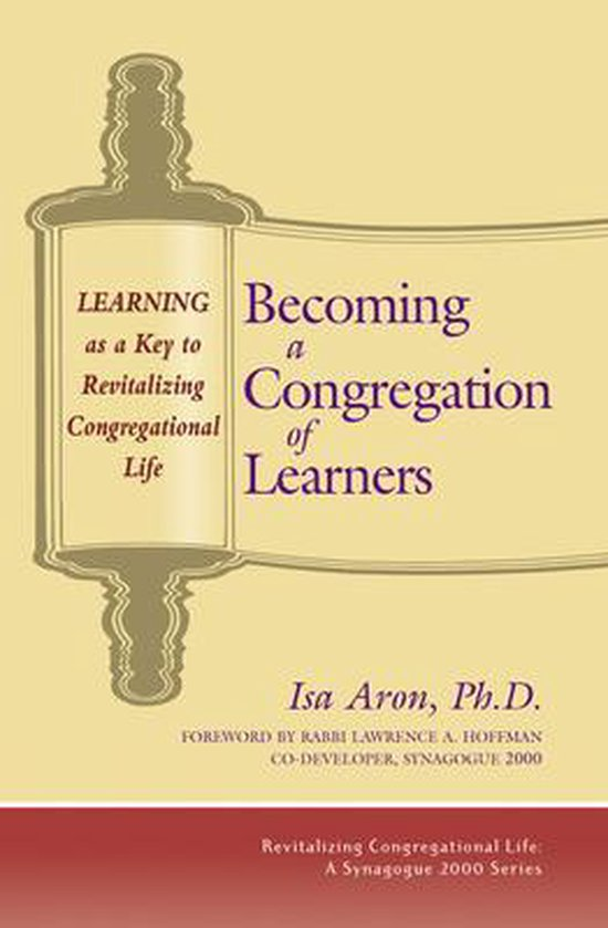 Boek cover Becoming a Congregation of Learners van Isa Aron (Paperback)