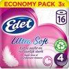 Edet Ultra Soft wc papier - 4-laags - 48 rollen