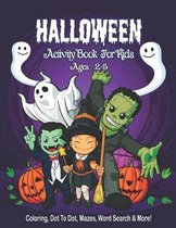 Halloween Activity Book for Kids Ages 2-5