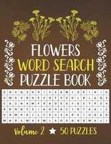 Flowers Word Search Puzzle Book