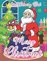 Merry Christmas Adult Coloring Book