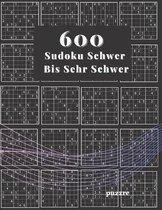 600 Sudoku Schwer Bis Sehr Schwer