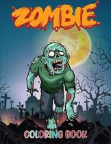 Zombie Coloring Book