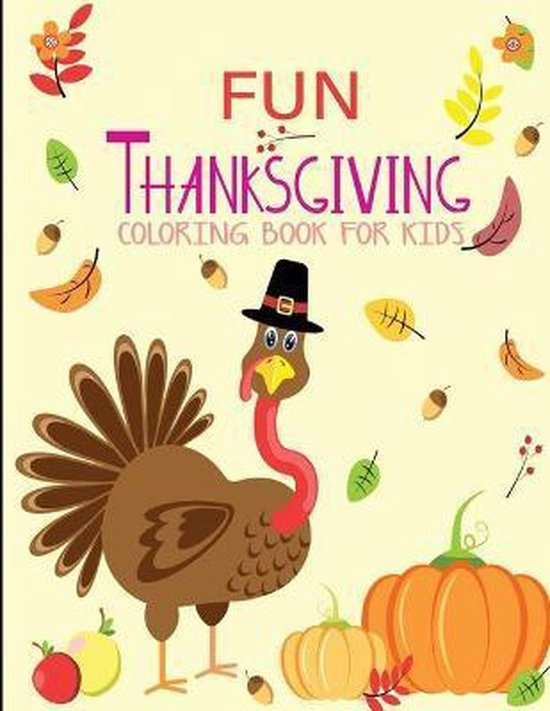 fun thanksgiving coloring book for kids