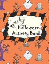 Spooky Halloween Activity Book