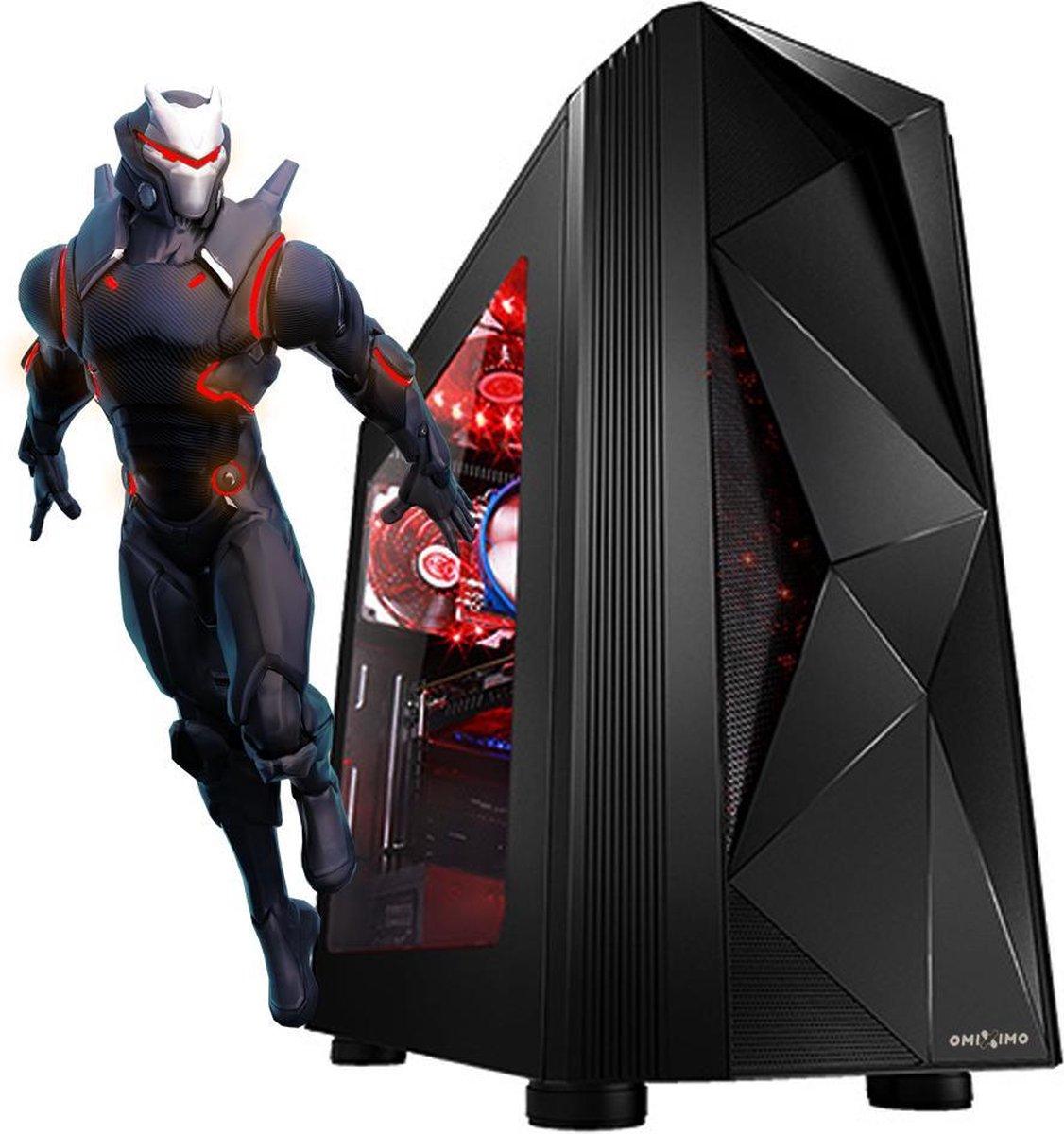 omiXimo   AMD Ryzen 3    Game PC     8 GB ram   240 GB SSD   Geschikt voor: Fortnite, Minecraft, Sim