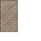 Handdoek panterprint - Strandlaken panter print luipaard print XXL