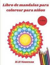 Libro de mandalas para colorear para ninos