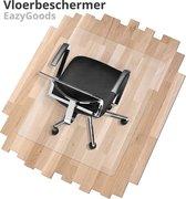 Vloerbeschermer - Bureaustoelmat PVC - 90x120cm - Vloermat - Vloer bescherming matten - Transparant