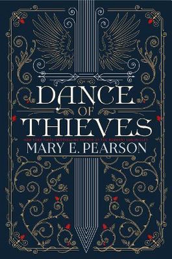 Boek cover Dance of Thieves van Mary E. Pearson (Hardcover)