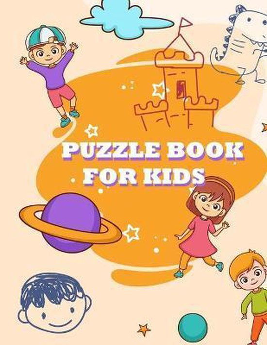 Puzzle Book For Kids