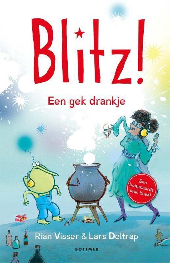 Boek cover Blitz! 7 -   Een gek drankje van Rian Visser (Hardcover)
