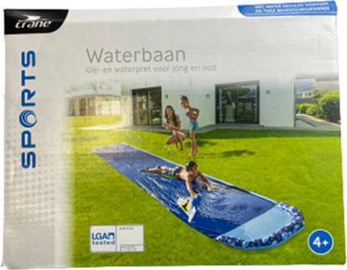 Crane waterbaan - Waterbaan met watersproeiers - 615 x 100 cm