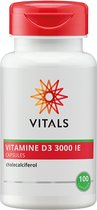 Vitals vitamine d 3000 ie.caps 100 st