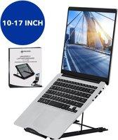Sirius Choice Universele Ergonomische Laptopstandaard 10-17 inch - Verstelbare Laptop houder - Laptop Steun - Zwart