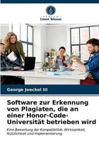 Software zur Erkennung von Plagiaten, die an einer Honor-Code-Universitat betrieben wird