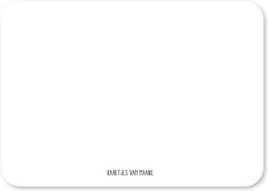 Wenskaart Hartjes - Geel - Kaarten - Wenskaarten set - kaartenset 10 stuks
