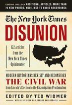 Omslag The New York Times: Disunion