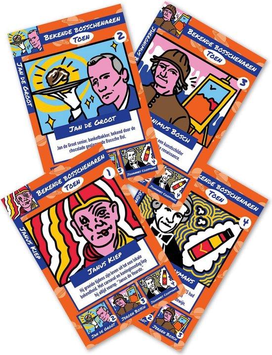 Afbeelding van het spel Supernoud ontdekt 's-Hertogenbosch Kwartet
