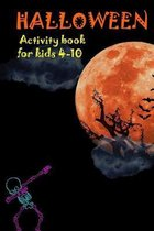 Halloween Activity Book for Kids Ages 4-10