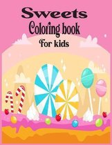 Sweets Coloring Book For Kids